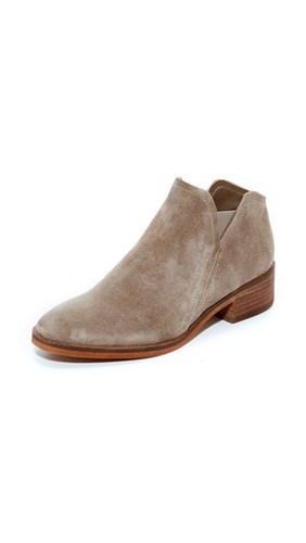 Dolce Vita Tay Suede Booties Dark Taupe 2Cc51c