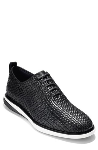 Cole Haan Grand Evolution Woven Oxford Black Leather 6sdlw