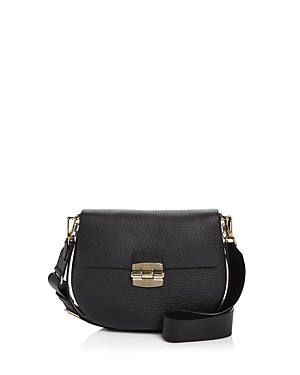 Furla Club Small Leather Crossbody Onyx Black Gold qwRjNC