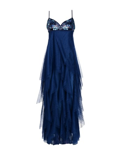 FAYAZI Long Dresses Blue jE8LHSr