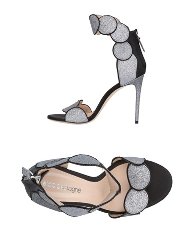 Aldo Castagna Sandals Black SuAIm