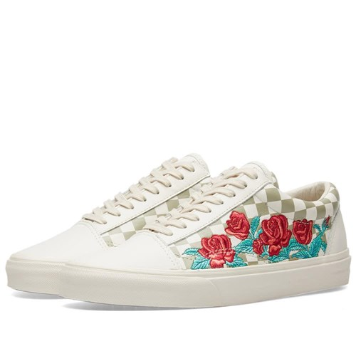 Vans Old Skool Dx Rose Embroidery Neutrals JdQdCCCE3V