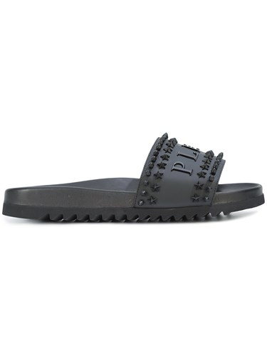 Philipp Plein Every Night Slides Black 3hbGpzfd