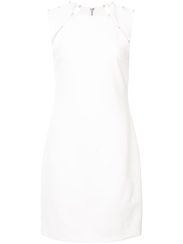 Alice + Olivia Classic Fitted Dress White 8tkd954a