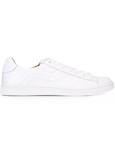 Marc Jacobs Panelled Low Top Sneakers White rWBQN