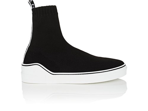 George V Knit Sneakers Black