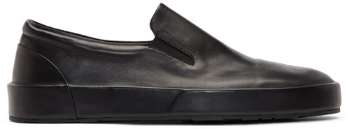 Jil Sander Black Softy Slip On Sneakers 8u6eAxVhp