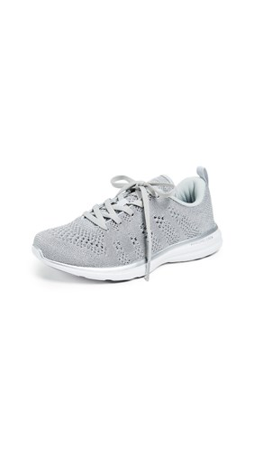 APL: Athletic Propulsion Labs Techloom Pro Sneakers Metallic Silver White 7T8tY