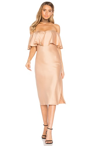 House Of Harlow X Revolve Newton Dress Brown ArTns