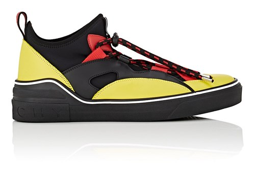 Givenchy Yellow George Black V Sneakers 7ZxSwC71qa