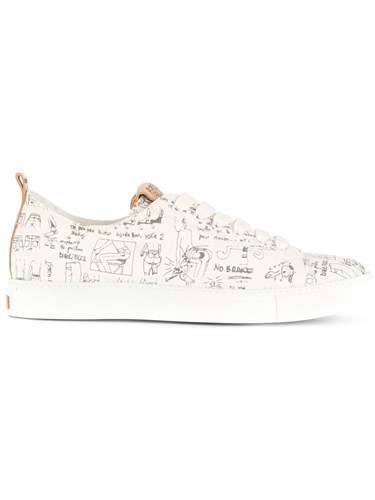 Closed Printed Sneakers White pikE9LaI
