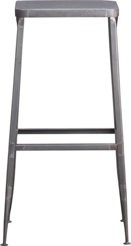 Flint Steel 30'' Bar Stool