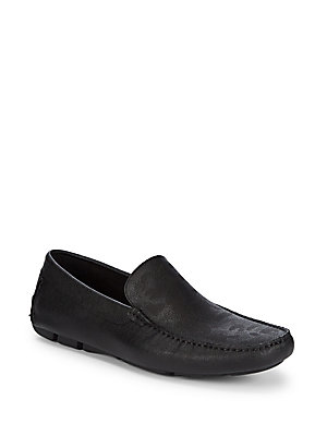 Kenneth Cole Common Leather Loafers Black yQKpmv