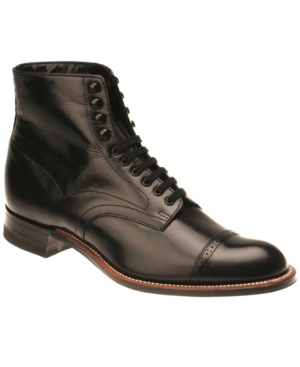 Stacy Adams Madison Boots Men's Shoes Black ZzF8dHkWQ