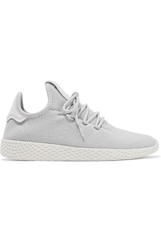 adidas Originals Pharrell Williams Tennis Hu Primeknit Sneakers Light Gray 1iijKtzWE