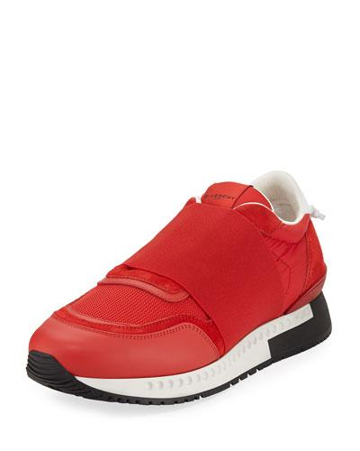Givenchy Active Elastic Band Running Sneaker Red ni1DC8qFk