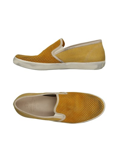 Leather Crown Sneakers Apricot wVdYd1m