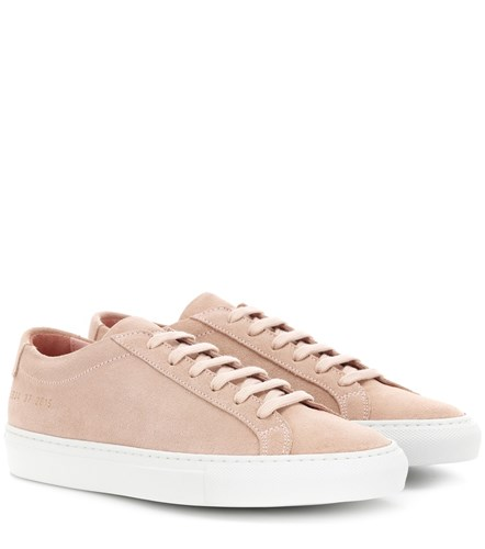 Common Projects Original Achilles Leather Sneakers Pink cpZ7d