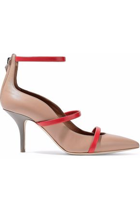Color Malone Pumps Block Sand Souliers Leather 5UxnYZq8w