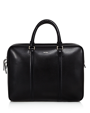 Leather Briefcase Slim Paul Black Smith ZtxqUTTwEW