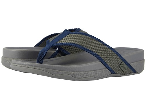 FitFlop Surfer Camouflage Green Midnight Navy Sandals Black 52yDy