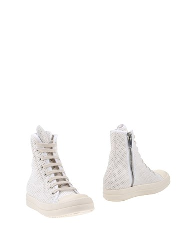 Rick Owens Drkshdw By Ankle Boots Ivory RWbv0c