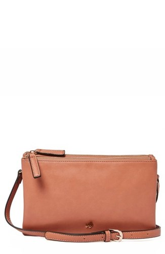 Urban Originals The Enchanted Faux Leather Crossbody Bag Pink Rose Pink Qy9tPU