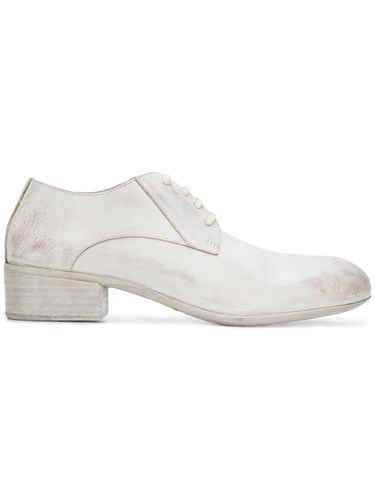 Lace Up Distressed White Shoes Marsèll qAYBwCa