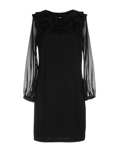 Ermanno Scervino Street Short Dresses Black 0Eth3