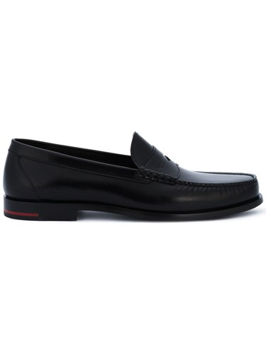 Givenchy Classic Penny Loafers Men Leather 41 Black 7aI6zhX