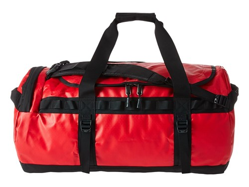 The Camp Tnf Duffel Base Tnf Black Duffel Face North Large Bags Red UtwRrUq