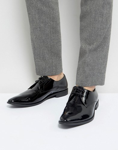Frank Wright Derby Shoes In Patent Leather Black oU95b