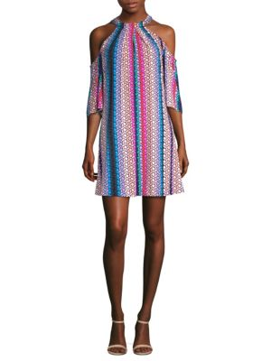 Trina Turk Spirit Striped Dress Multi ltaa03gVy5