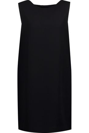 Theory Narlica Crepe Mini Dress Black yLKKly0Va9
