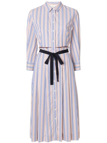 Mantu Striped Shirt Dress Multicolour UQR4RWu