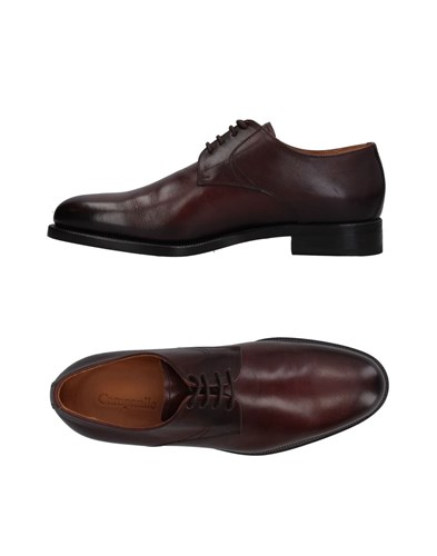 CAMPANILE Lace Up Shoes Dark Brown 7wfOv