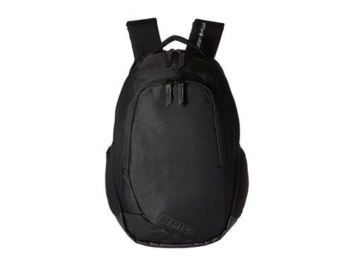 EPIC Travelgear Proton Plus Pod Backpack Black Backpack Bags OU9v2