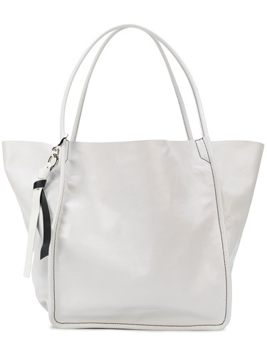 Proenza Schouler Extra Large Tote Calf Leather White uVSxRg