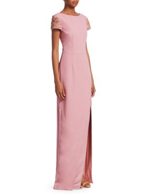 Slit David Gown Blush Front Meister Yzx4xqwvnE