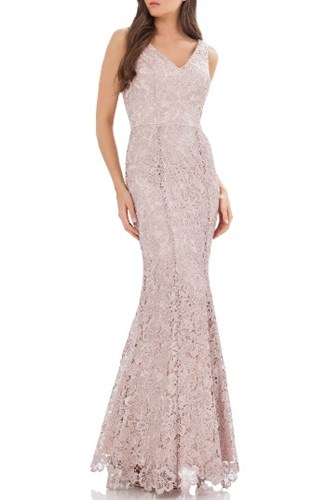 JS Collections Women's Lace Mermaid Gown GNTP0PxfwD