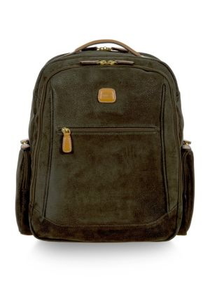 Bric's Life Medium Executive Backpack Olive r17EY