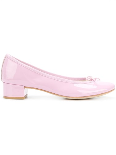 Repetto Classic Court Shoes Pink And Purple 0aox7b