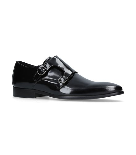 Kurt Geiger Route Monk Shoes Black qE6SVtI