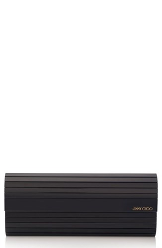Jimmy Choo Sweetie Acrylic Clutch Black d26gz3KLt0