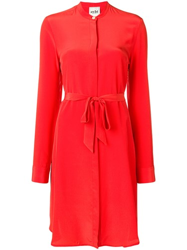 Aybi Crepe Dress De Red Chine rSFnrgqw