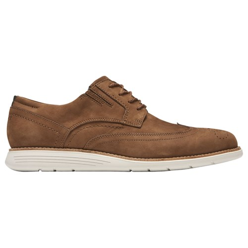 Rockport Total Motion Sports Casual Oxford Shoes Brown lM761T