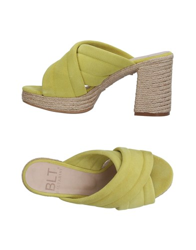 BALTARINI Sandals Acid Green KN5XHwxNH