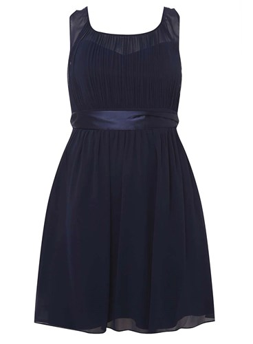 Dorothy Curve Dress 'Beth' Navy Prom Showcase Perkins Blue CwPC4