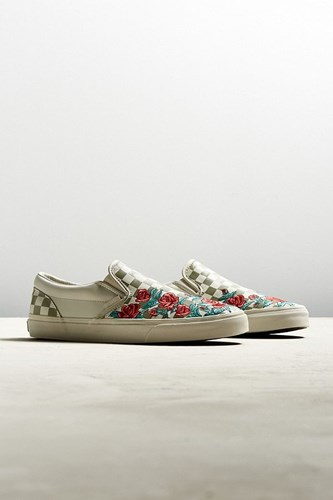 Vans Classic Slip On Dx Checkerboard Rose Sneaker Neutral mGgsab