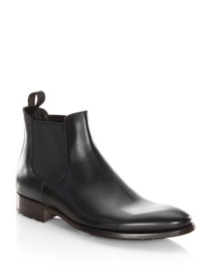 To Boot Yonkers Leather Chelsea Boots Black eXtI5noc4y